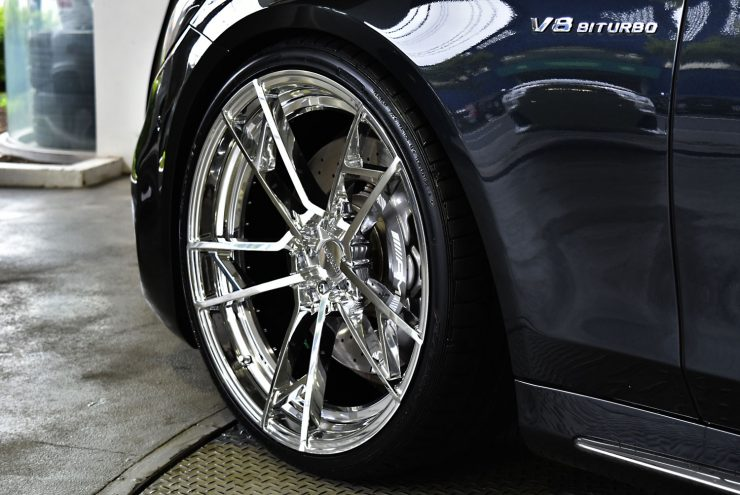 AMG W222 S63 Sクラス ローダウン 22インチ ロティフォーム アメ鍛 鍛造