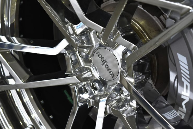 AMG S63 W222 Sクラス ローダウン ロワリング エンブレムペイント ブラックアウト